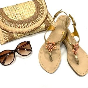 Marc Fisher Beaded Sandals